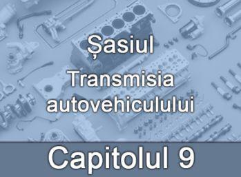 Capitolul IX - Șasiul - Transmisia autovehiculului