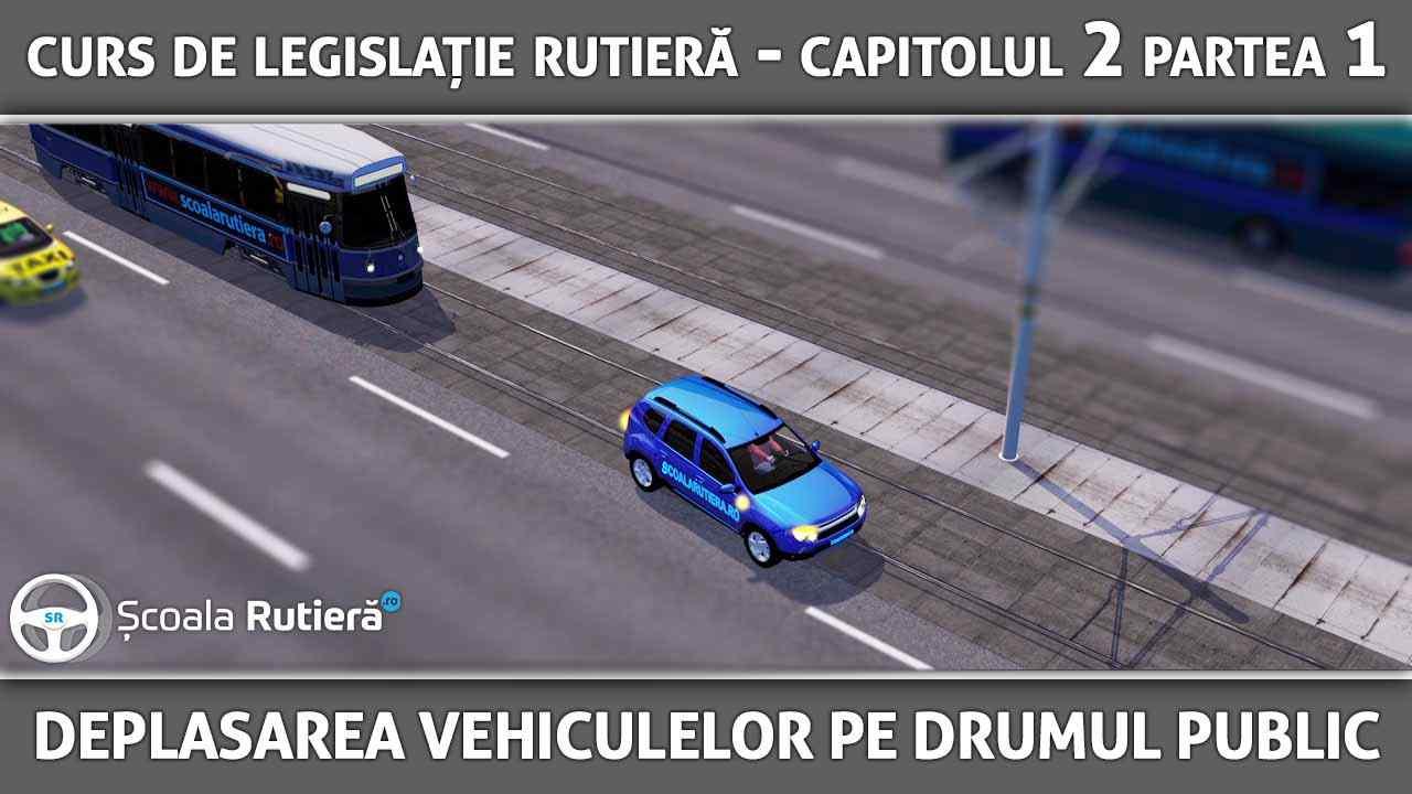 Capitolul 2 - partea 1 - Deplasarea vehiculelor pe drumul public