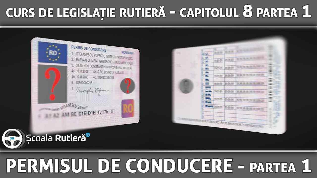 Codul Rutier - Permisul de conducere