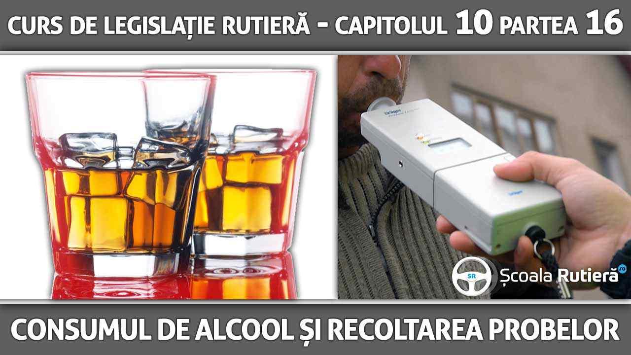 Capitolul 10 - partea 16 - Consumul de alcool și procedura de recoltare probe