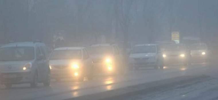Condusul pe timp de ceață
