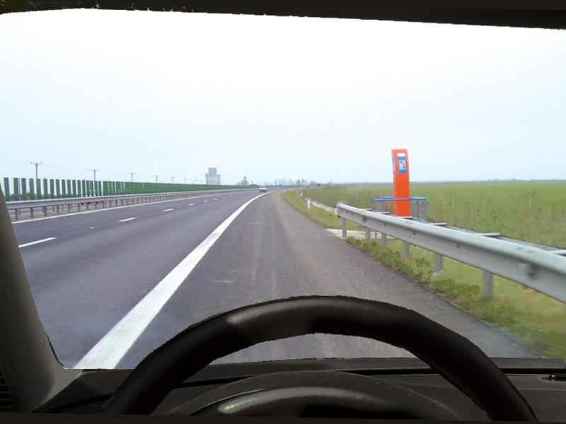 Sunteţi corespunzător încadrat pentru a folosi prima ieşire de pe autostradă?