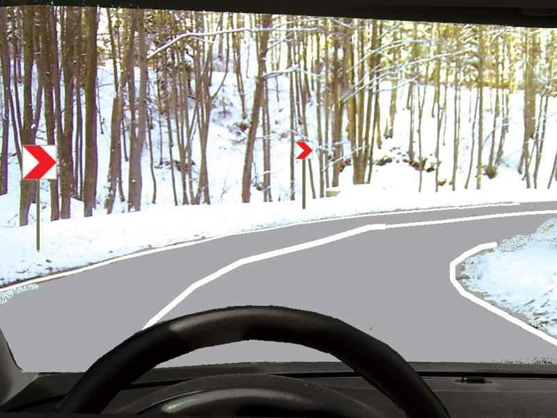 Aveţi obligaţia de a respecta semnificaţia unui indicator amplasat pe partea stângă a drumului?
