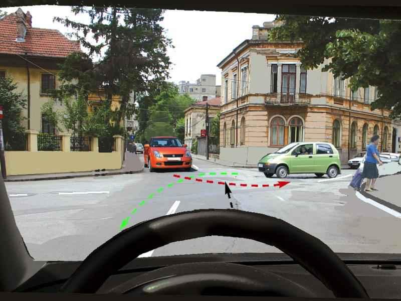 Cărui autoturism trebuie să-i acordaţi prioritate?