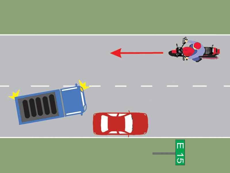 Autoturismul a oprit regulamentar?
