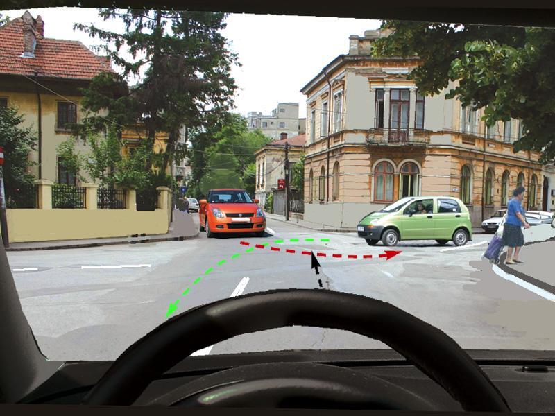 Cărui autoturism trebuie să-i acordați prioritate?