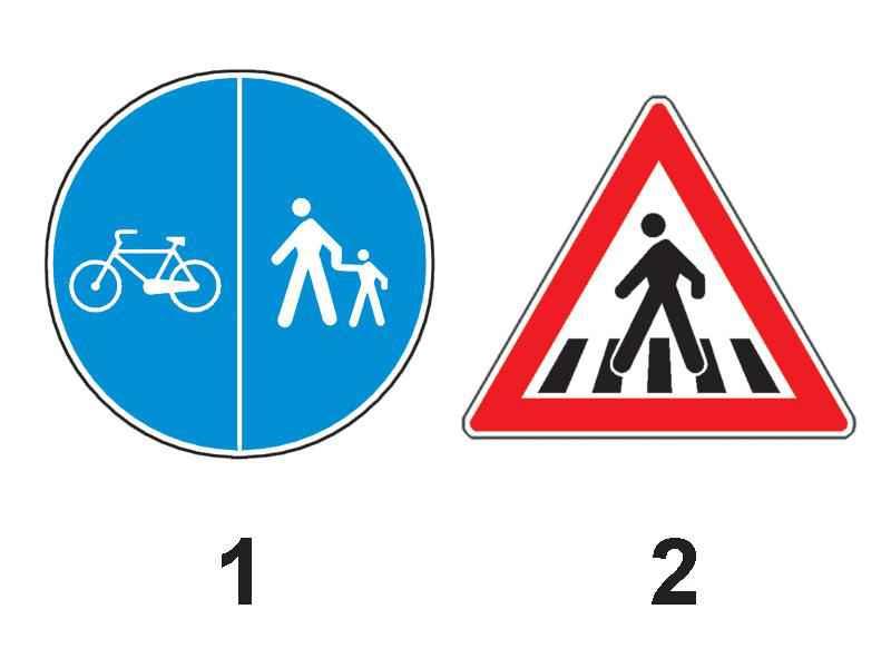 Care dintre indicatoarele alăturate creează obligații pentru conducătorii de vehicule?